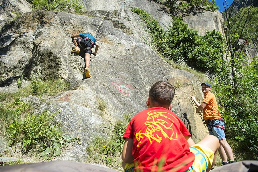 Klettersteig Vinschgau : Klettersteig tschenglser hochwand